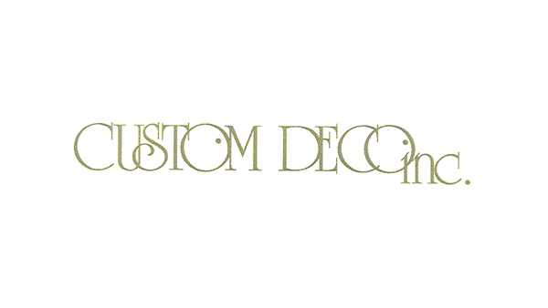 custom deco logo