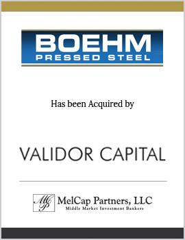 Boehm Pressed Steel Company