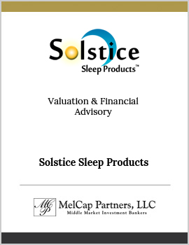 Solstice Sleep Products