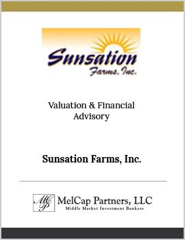 Sunsation Farms Inc