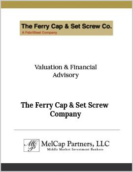 The Ferry Cap & Set Screw Company