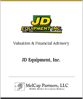 JD Equipment, Inc.