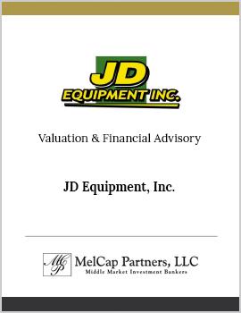JD Equipment, Inc.