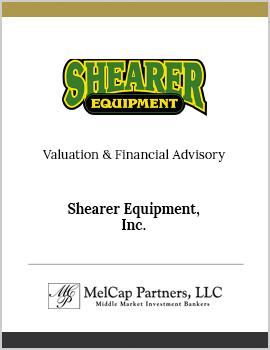 Shearer Equipment, Inc.
