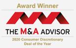 M&A Advisor 2020 Award Winner